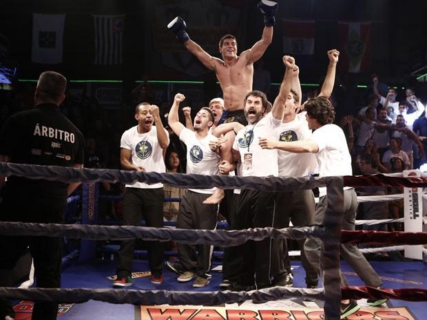 Duca é o grande vencedor do torneio (Foto: Inácio Moraes/Gshow)