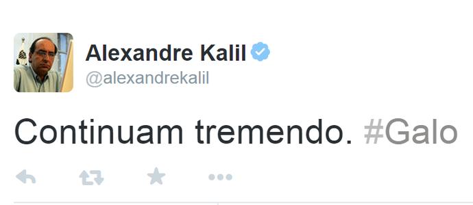 Kalil Twitter (Foto: Reprodução/Internet)