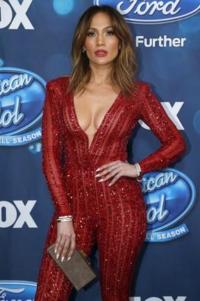 Jennifer Lopez em festa em Los Angeles, nos Estados Unidos (Foto: Mario Anzuoni/ Reuters)