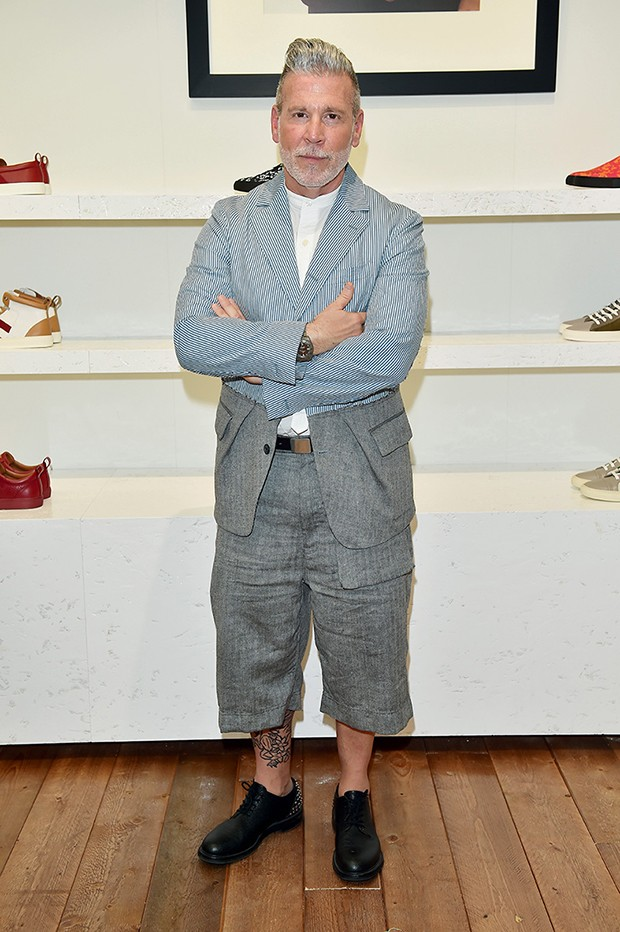 MILAN, ITALY - JUNE 19:  Nick Wooster attended the Bally Men's Spring Summer 2017 Presentation, on June 19, 2016 in Milan, Italy.  (Photo by Stefania D'Alessandro/Getty Images for BALLY) (Foto: Getty Images for BALLY)