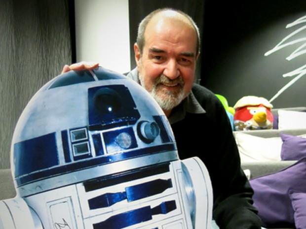 Tony Dyson, que construiu o original R2-D2 de 'Star Wars' (Foto: Divulgação)