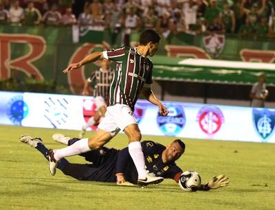 Magno Alves - Fluminense (Foto: André Durão)