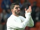 Uruguaio Luis Suárez vai completar cem jogos com a camisa celeste