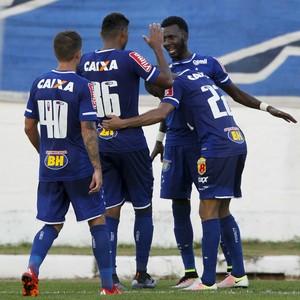 Allano Cruzeiro comemora gol contra o Boa Esporte (Foto: Washington Alves/ Light Press)