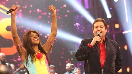 Ícaro Silva, Samantha Schmütz, Luiza Possi e Nelson Freitas estão na grande final do 'Show dos Famosos'