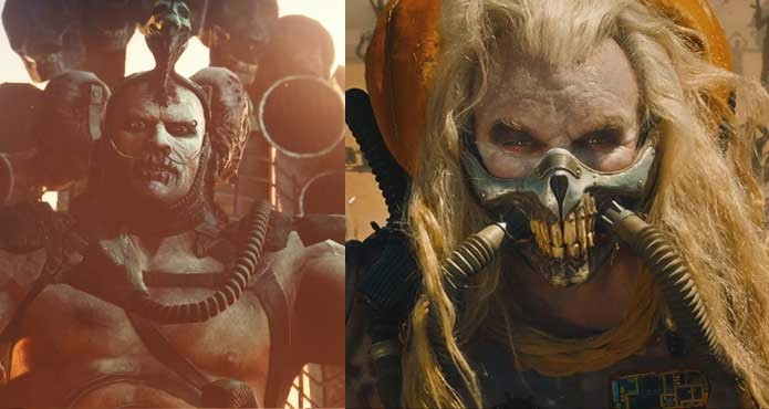 Scrotus e Joe, filho e pai em Mad Max (Foto: Reprodução/Felipe Vinha)