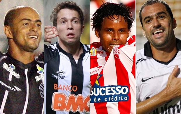 Montagem gol mais bonito Brasileiro É Gol (Foto: Montagem SporTV)