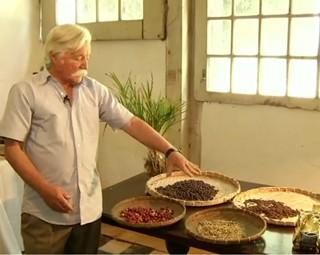 Projeto resgata a história do café em Vassouras (Foto: Reprodução: RJTV 1ª Edição)