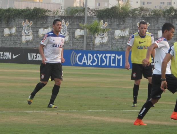 Treino Corinthians - Ralf e Renao Augusto