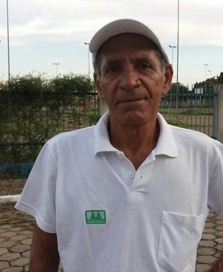 Da Costa, técnico do Ji-Paraná (Foto: Marco Bernardi)