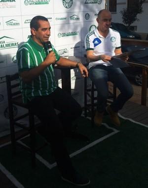 Zinho Palmeiras Evento Piracicaba (Foto: Divulgação / Casa Palmeiras)