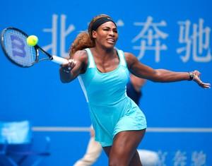 Serena Williams, no WTA de Pequim (Foto: AP)