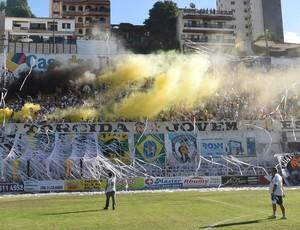 Torcida do Estrela do Norte (Foto: Vitor Jubini/A Gazeta)