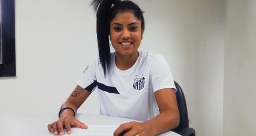 a boa filha... (Divulgação/Santos FC)