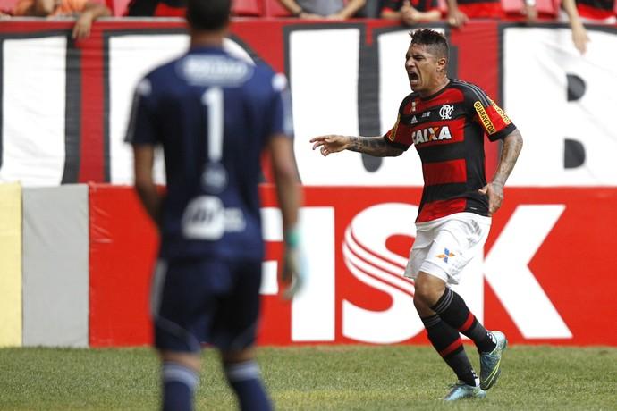 Guerrero suspenso (Foto: Gilvan de Souza/ Flamengo)
