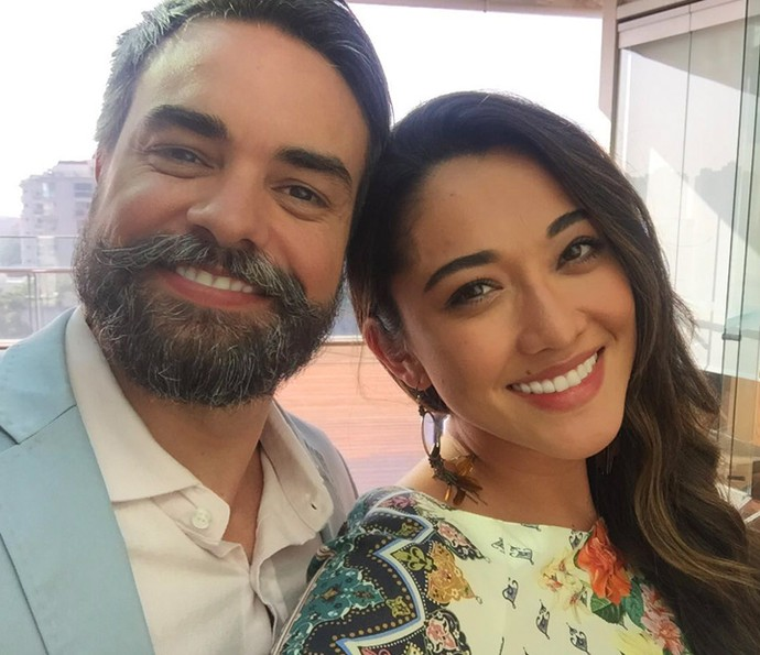 Márcio Kieling e Jacqueline Sato estão no elenco da novela 'Sol Nascente' (Foto: Divulgação)