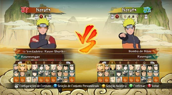 Veja como desbloquear todos os personagens de Naruto Shippuden Ultimate Ninja Storm Revolution (Foto: Reprodução / Dario Coutinho)