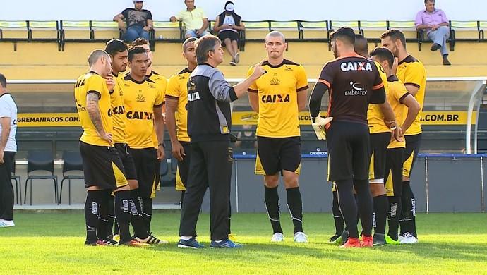 Criciúma apresenta (Foto: Reprodução/RBS TV)