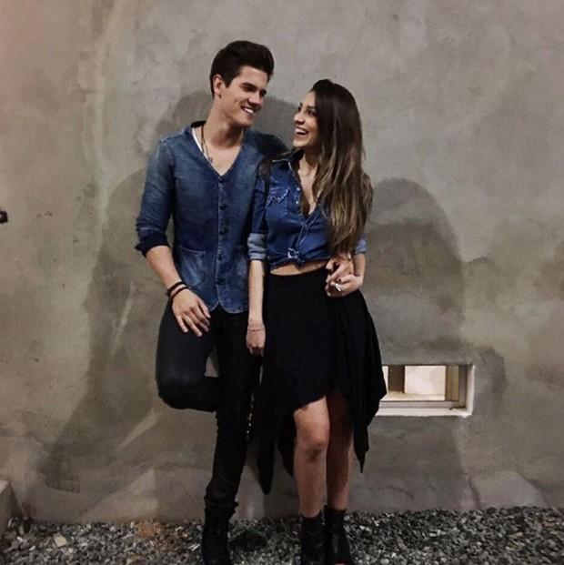 Breno e Bruna Santana (Foto: Reprodução)