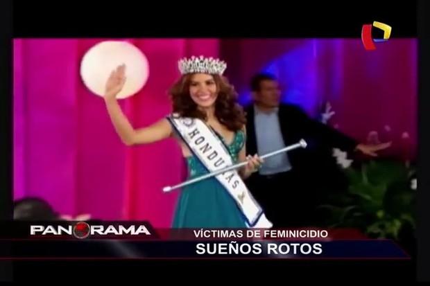 María José Alvarado, Miss Honduras (Foto: Youtube / Reprodução)