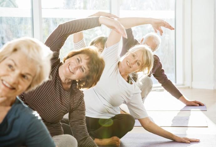 Idosos Que Praticam Exercícios Físicos Diários Podem Viver Por Mais