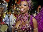 Rainha de bateria desvenda mistério da 'calcinha invisível' na Sapucaí