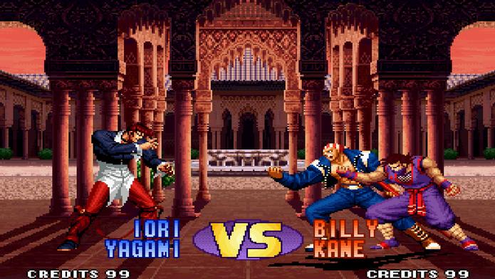 The King of Fighter 98' tem até versão para celulares (Foto: Divulgação/SNK)