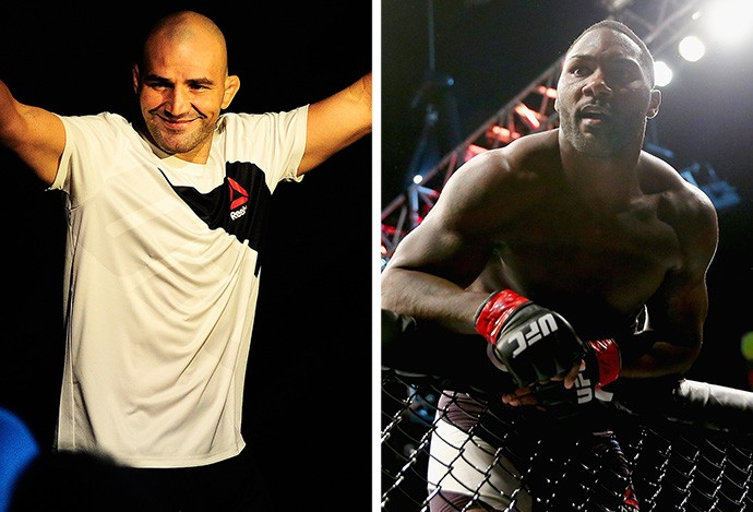 MONTAGEM - Glover Teixeira x Anthony Johnson UFC (Foto: Editoria de Arte)