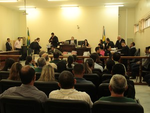 Julgamento Naiara Karine 2016, em Porto Velho, RO (Foto: TJRO/Divulgação)