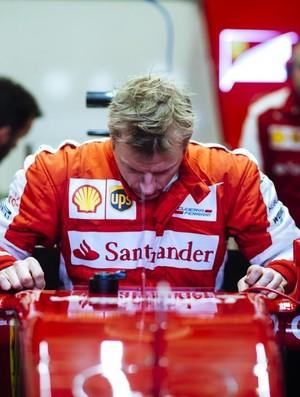 Kimi Raikkonen - Ferrari -  testes Jerez de la Frontera (Foto: Divulgação)
