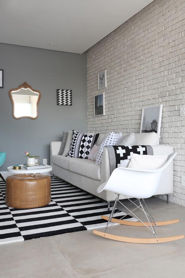 Decoração escandinava amplia apartamento de 60 m² (Foto: Mariana Orsi)