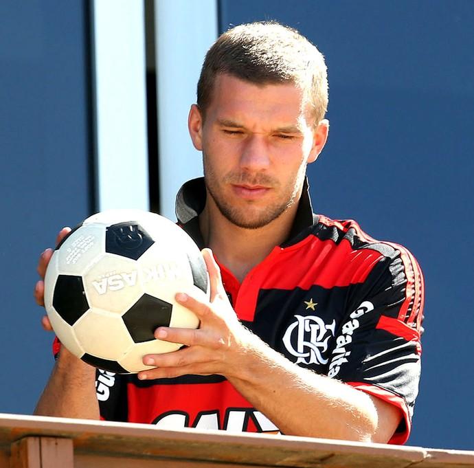 Podolski Alemanha (Foto: André Durão)