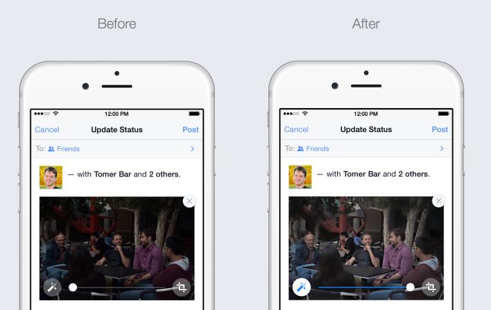 Nova função melhora automaticamente imagens enviadas para o Facebook (Foto: Reprodução/TechCrunch)