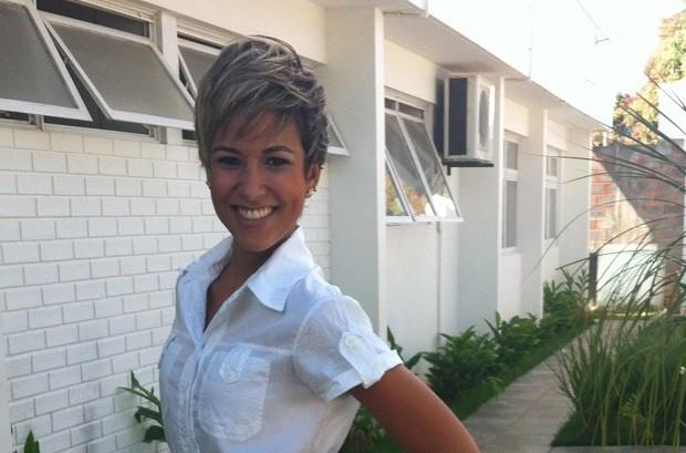 Suzana Siega apresenta o MG Cultura no MG Inter TV 1 Edição  (Foto: Henrique Corrêa/G1)