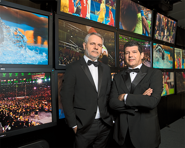 Carlos Henrique Schroder  e Alberto Pecegueiro (Foto: Daryan Dornelles)