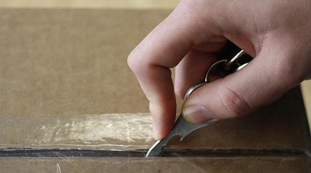 A invenção é feita em aço inoxidável e tem cinco centímetros (Foto: Divulgação)