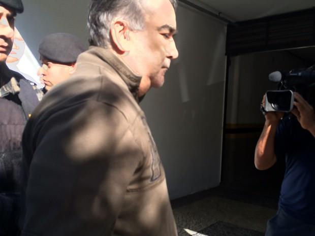 Ex-secretário de Minas Gerais e ex-deputado federal Nárcio Rodrigues (PSDB) é preso durante operação em Belo Horizonte (Foto: Rádio CBN)