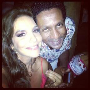 Ivete Sangalo e Luis Miranda em festa em Salvador, na Bahia (Foto: Instagram/ Reprodução)