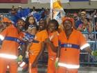 Filha de Shayene Cesário desfila na Sapucaí e mostra talento de família