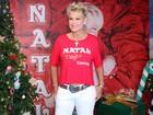 Xuxa participa do 'Natal Mágico', show beneficente no Rio