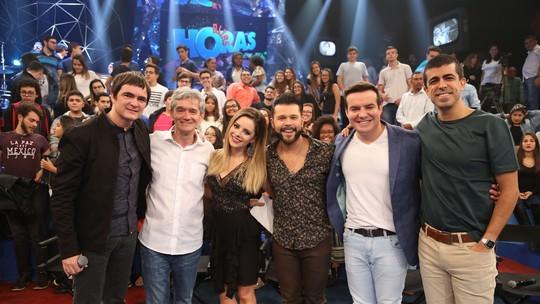 Serginho Groisman escolhe amigos íntimos para trabalhar no aniversário