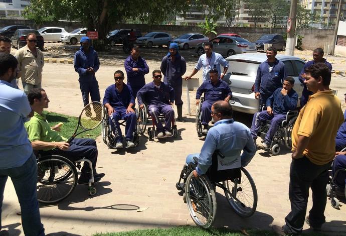 Acessibilidade no Parque Olímpico (Foto: Divulgação EOM )