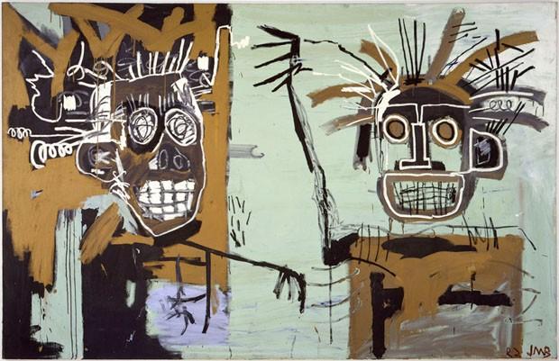 Sem título (Duas Cabeças em Ouro), 1982 (Foto: Gagosian Gallery)