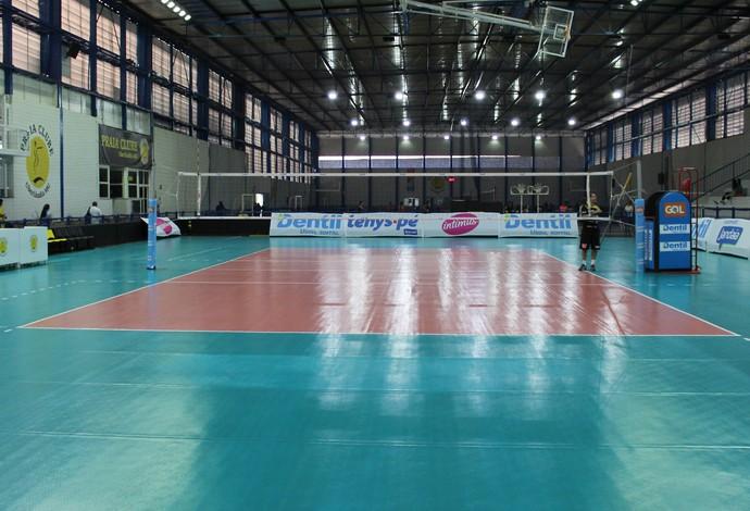 Arena Praia Uberlândia Praia Clube vôlei (Foto: Lucas Papel)