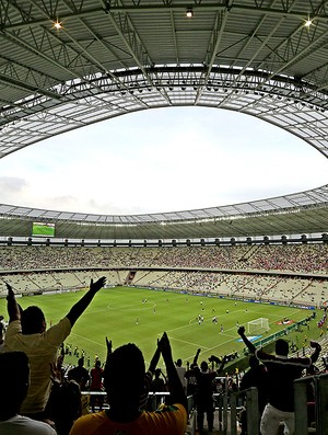 Estreia estádio Castelão (Foto: Ernesto Rodrigues / Agência Estado)