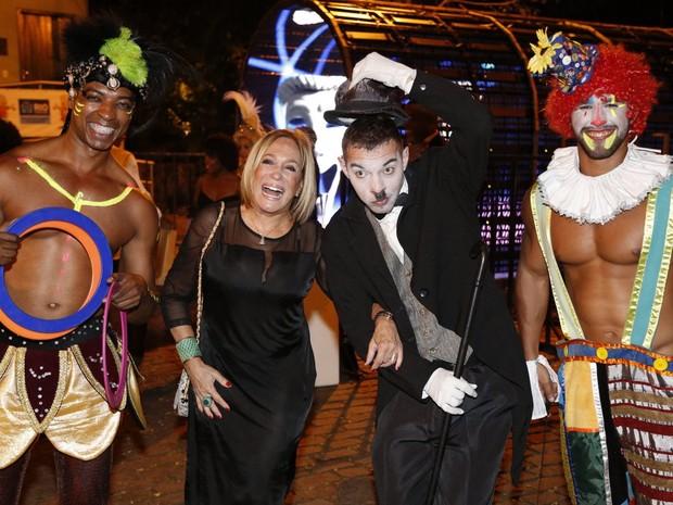 Susana Vieira em festa na Zona Sul do Rio (Foto: Felipe Assumpção/ Ag. News)