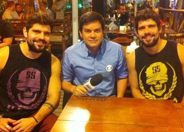 Repórter realizou matérias para o 'Madruga SporTV' (Foto: Divulgação / TV Sergipe)