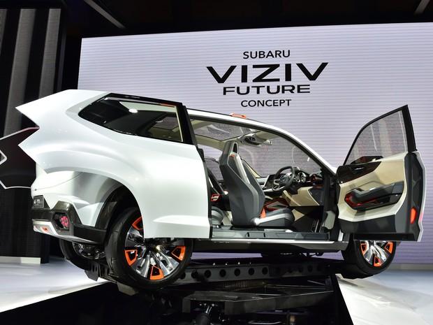Subaru Viziv Future Concept (Foto: AFP PHOTO / Yoshikazu TSUNO)