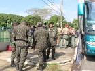 PM e Exército começam a enviar tropas para fazer segurança no interior