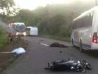 Motociclista e cavalo morrem depois de colisão na BR-110, na Bahia